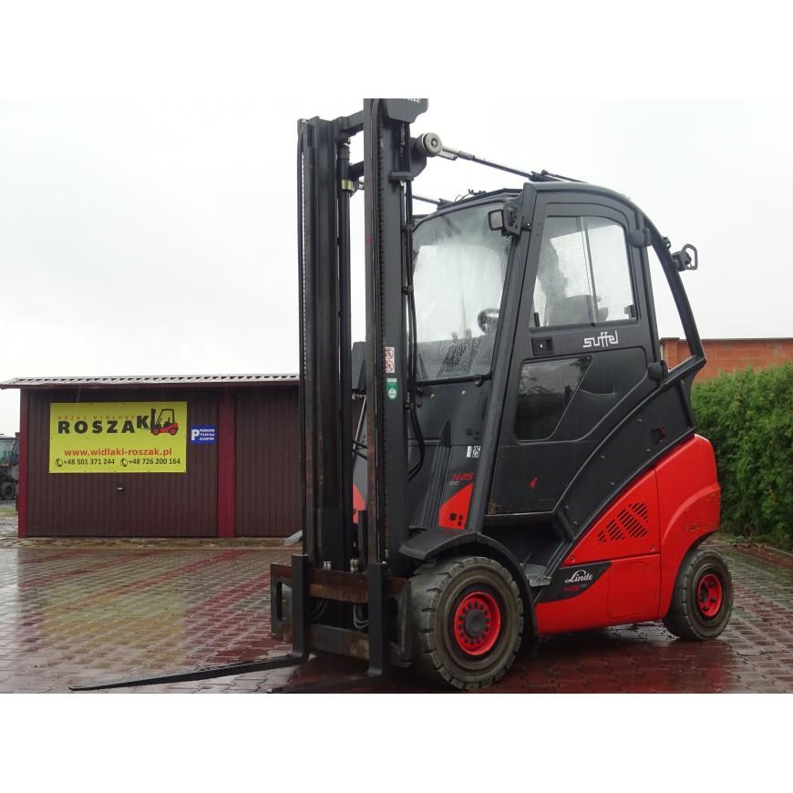 Wózek widłowy Linde H25T-02/600